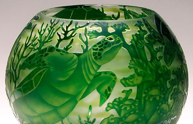 Heron Glass<span>Ralph Mossman and Mary Mullaney</span>
